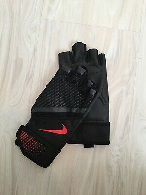 Nike Destroyer Weight Lifting Gloves training Fitness Gym Workout Fingerless L