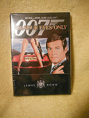 Brand New/Sealed Dvd! I'm Bond...james Bond! For Your Eyes Only! 2006 Version!