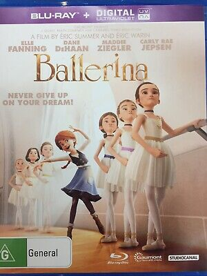 Ballerina - Bluray 2016 As New!
