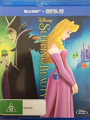 SLEEPING BEAUTY (Original 1959 Disney Film) - BLURAY AS NEW!