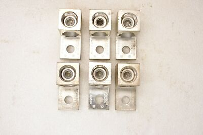 ILSCO D-3121 Lug Connector 750MCM-1/0, (2)300MCM-1/0, CU9AL, Lot of 6