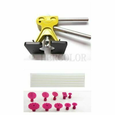 Paintless Dent Repair Tools PDR puller, with 10 puller tabs and 5 glue sticks