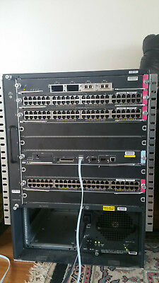 Cisco Catalyst 6509e with sup720-3b, 146/192 GE and 4 10GE interface