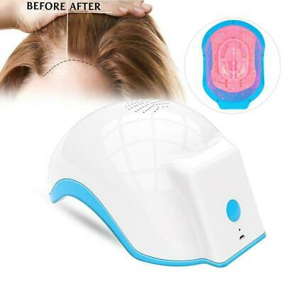 New Laser Hair Loss Regrowth Growth Treatment Cap Helmet Therapy Alopecia AU.