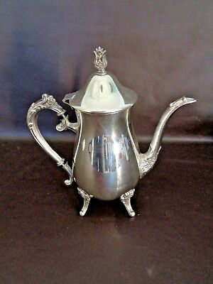 Vintage Leonard Silverplate Coffee Carafe (Cat.#4T031)