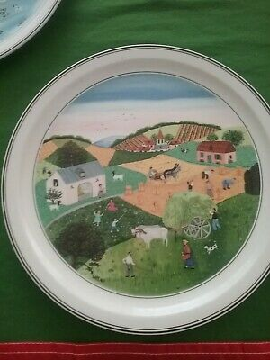 Villeroy & Boch naif Summer plate, part of 4 Seaons collection