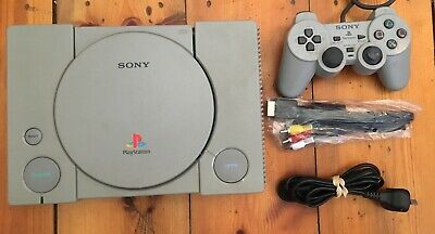 Playstation 1/PS1 Grey SCPH-1002 Audiophile Console + Free Post
