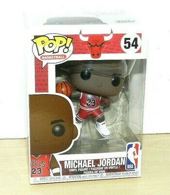 Michael Jordan Funko Pop New Chicago Bulls Nba Figure Mj Must Have Nice Box 54