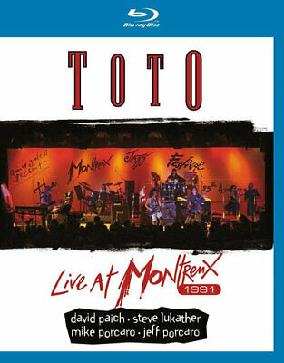 Toto: Live at Montreux 1991 BLU-RAY NEW