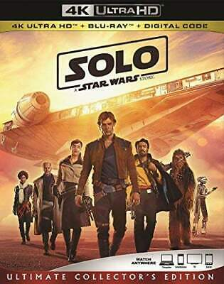 Solo: A Star Wars Story (3 Disc, With Blu-ray) 4K ULTRA HD BLU-RAY NEW