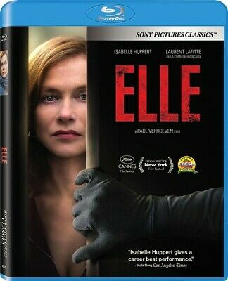 Elle (2016 Isabelle Huppert) BLU-RAY NEW