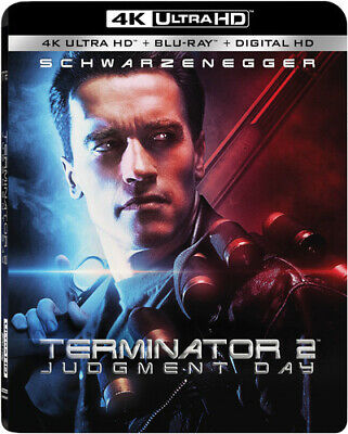 T2 - Terminator 2: Judgment Day (2 Disc, With Blu-ray) 4K ULTRA HD BLU-RAY NEW