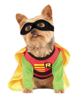 """Robin DC Comics Pet Dog Costume, Small, Neck to Tail 11"""", Chest 17"""""""