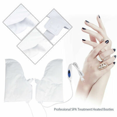 Electric Booties Spa Mastex Thermal Heat Heated Foot Hand Warmer Paraffin Care.