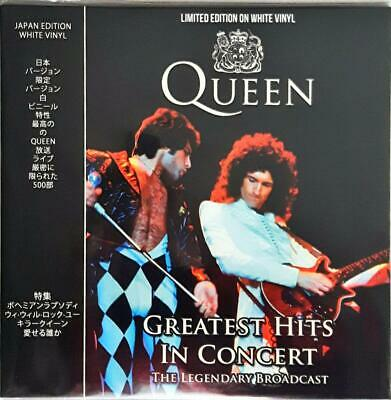 "Queen ‎– Greatest Hits In Concert  33 Giri Vinyl  Lp 12""  Japan Edition"
