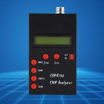 1-60MHz Shortwave SWR Antenna Analyzer Meter Tester For Ham Radio Hobbists AU.