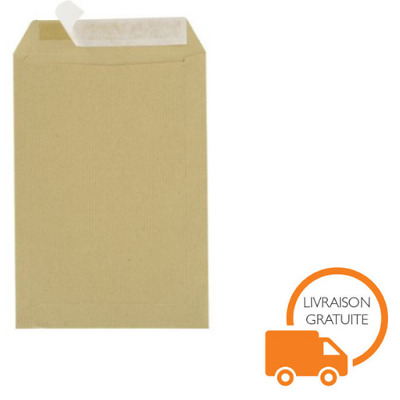 Enveloppe Kraft Marron 90g 23 x 32 Format A4 Paquet De 50 Expedition Lettre