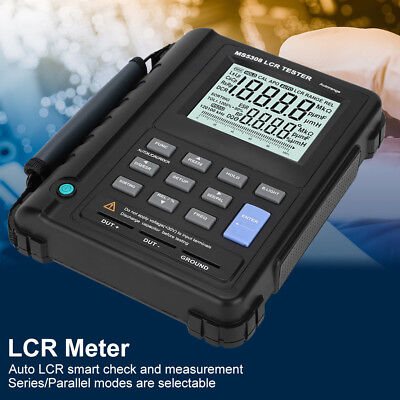 MS5308 Digital Multimeter LCR 100Khz Inductance Resistance Capacitance Meter UK