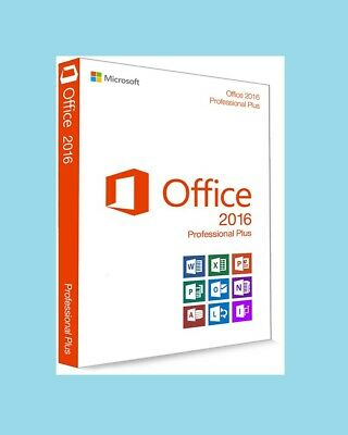 Office 2016 Professional Plus MICROSOFT - 32/64 Bit - Valido Per 1 pc