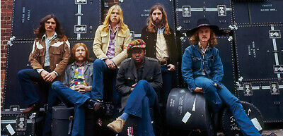 Allman Brothers Band Color 8x10 Picture Celebrity Print