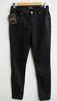 4f0b5b3c BNWT VIVIENNE WESTWOOD 'Anglomania' Ladies Black Stretch HW Slim Jeans ...