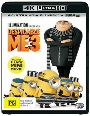 Despicable Me 3 - 4K Ultra HD : NEW UHD Blu-Ray