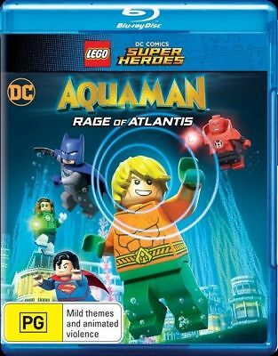 LEGO DC Super Heroes - Aquaman - Rage Of Atlantis (Blu-ray, 2018) NEW