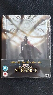 Marvel - Doctor Strange  BluRay 3D Steelbook von Zavvi - Neu, OVP