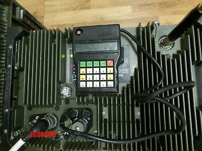 MILITARY / Army Radio, ex NATO , Base or Man Pack Radio , HF