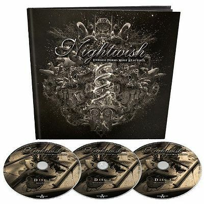 Endless Forms Most Beautiful 3 CD EARBOOK LTD EDITION