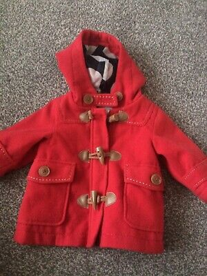 Girls Next  Duffle Coat 3-6 Months Pre Owned