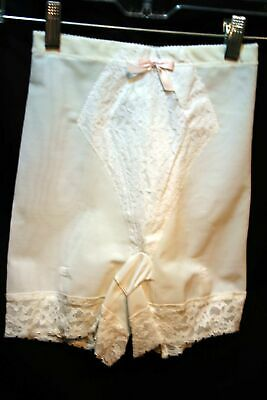 S Vtg 1960s NOS Average Leg Panty Girdle TRIMFLEX 575 NYLON Metal Garters 60s