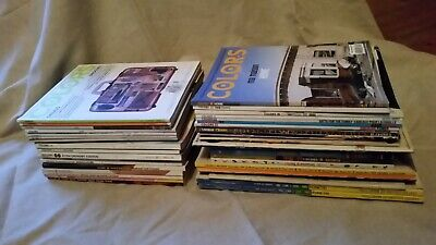 Benetton Colors magazine Collection, 34 Rare issues, numbers between 4-62