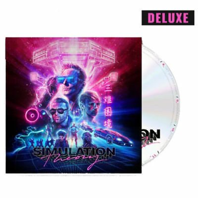 Muse Simulation Theory (Deluxe Edition) Cd Nuovo