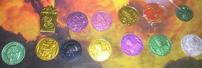 set of 13 2019 Bacchus Doubloons