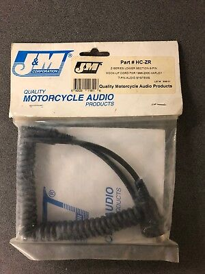 J&m Audio Cord Hc-Zr Harley Davidson 7-Pin Audio Systems New Z Series Cord