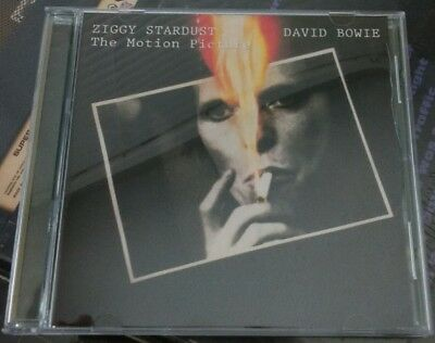 DAVID BOWIE - ZIGGY STARDUST THE MOTION PICTURE CD 1992 RYKODISC  Green Case