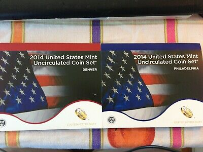 2014 United States Mint Uncirculated Coin Set: Denver and Philadelphia