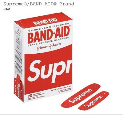 !!4 PACK!! Supreme Band Aids SS19