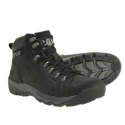 CAT by Caterpillar Men's NEW Supersede Black Lace Up Leather Hiking Boots