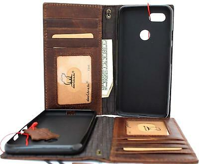 Genuine Leather Case For Google Pixel 3 Book Wallet Handmade Cover Card Pixel 3
