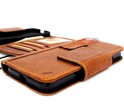 Genuine Vintage Real Leather Case for Google Pixel 3 Book Wallet Vintage Magnet