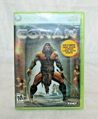Conan (Microsoft Xbox 360, 2007) Brand New Factory Sealed