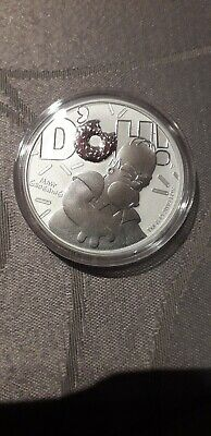 1 oz once silver argent homer simpson