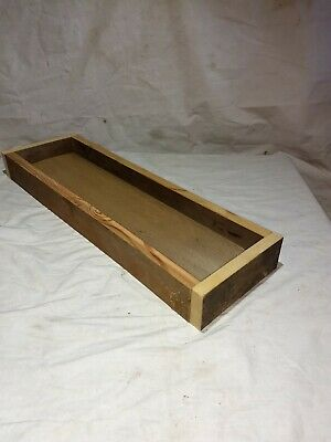 Primitive Barn Wood Rustic Wood Box Center Piece Reclaimed Crate Decor wedding
