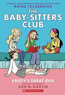 Kristy's Great Idea by Raina Telgemeier New Paperback Book