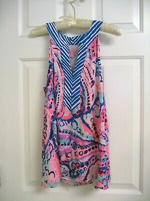 "db875c328259be LILLY PULITZER ACHELLE Top Size M ""Colony Coral"" NWT - $50.00 