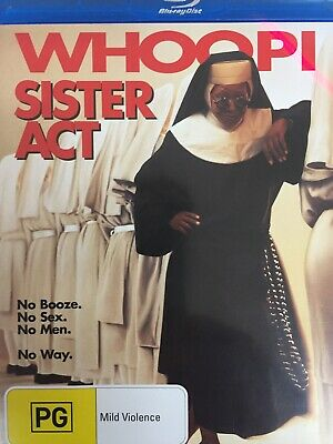 SISTER ACT - BLURAY 1992 AS NEW! All Region