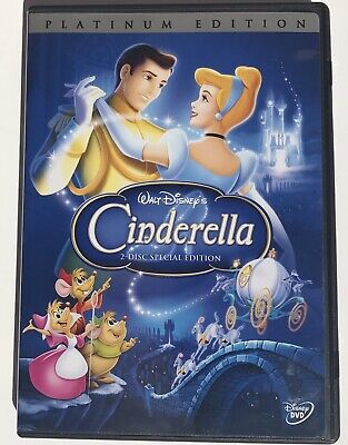 Cinderella (DVD, 2005, 2-Disc Set, Special Edition-DVD Platinum Collection)Used