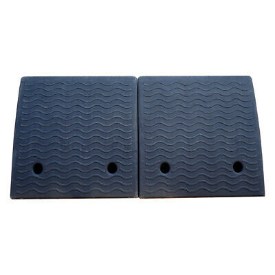 4'' RUBBER LOADING Dock Rubber Curb Ramps 20 Ton Car Ramp - $80 37